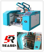RS-600 All Automatic computer controlled PE PVC cling film rewinding machine