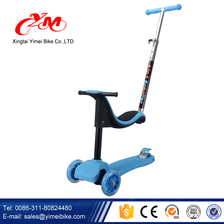 New Patent Kids Scooter /New model high quality China Scooter for Kids/3 in 1 Kids Scooter Sale 3 wheel Pedal Scooter For Kids