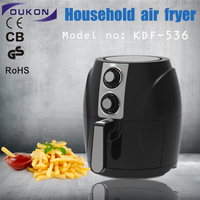 oukon536 Black Mini Installation and Single Number of electric air fryer