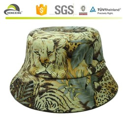 Cheap print free pattern children bucket hat