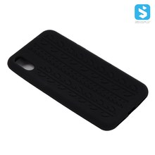 Tyre Pattern Silicon Phone Case Cover for iPhone X