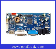 HDMI DVI VGA to LVDS LED Monitor Display Controller Board Solution