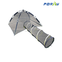 Portable and breathable pet playing combine tent