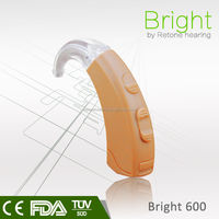 New Arrival! Middle power Digital BTE Hearing aid for mild hearing loss