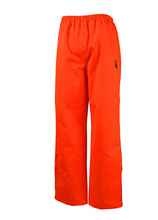 new style polyester fluorescent orange pants wholesale