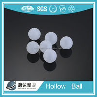 Chinese CE,ISO clear plastic hollow balls