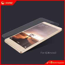 For Redmi Note 3 tempered glass screen protector high quality 2016 best quality