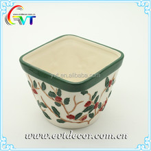 New design wholesale custom ceramic salad mixing bowl