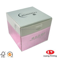 Custom Popular Smell Rigid Cosmetic Box