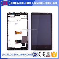 [Jinxin] oem brand new high quality lcd screen for nokia X2 ,for lumia X2 screen display complete