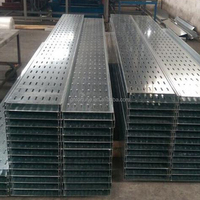 CE SGS Full Sizes Galvanized Metal Cable Trunking