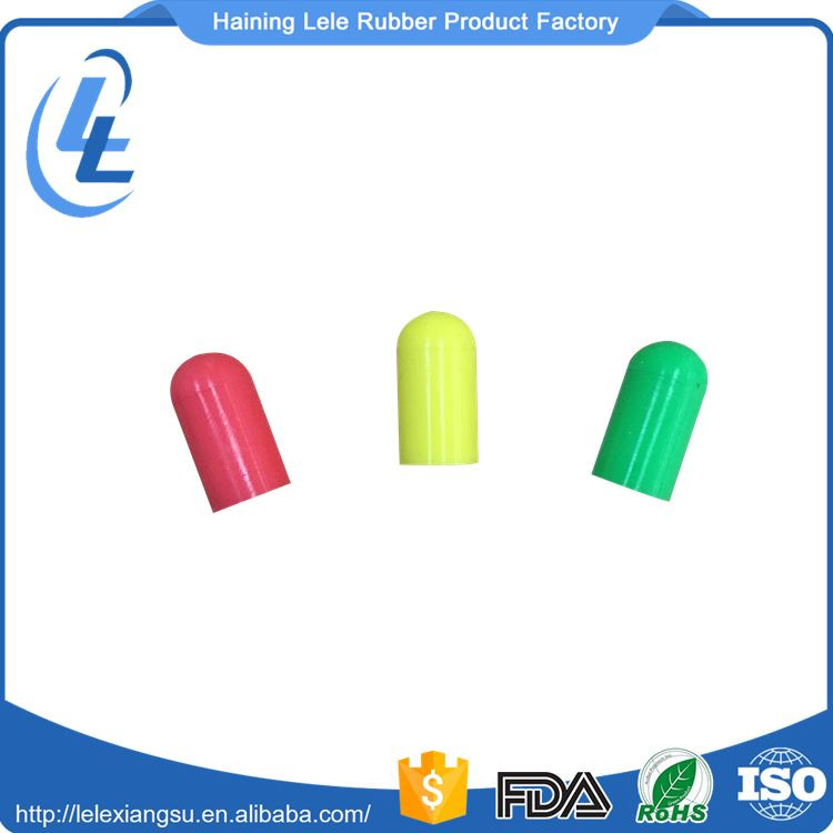 custom heat resistant silicone rubber stopper