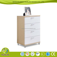 Melamine particle board cover Chest of Drawers Furniture