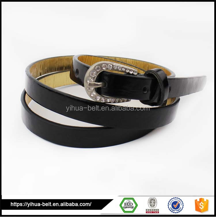 New models printed leather belts woman popular belt