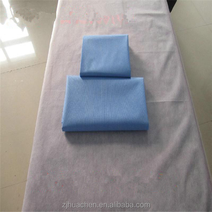 Disposable Sheets For Hotels: China Supplier Textile Disposable Foldable Bed Sheets For