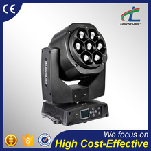 china stage lighting equipment 7pcs 15W rgbw led mini b-eye moving head wash