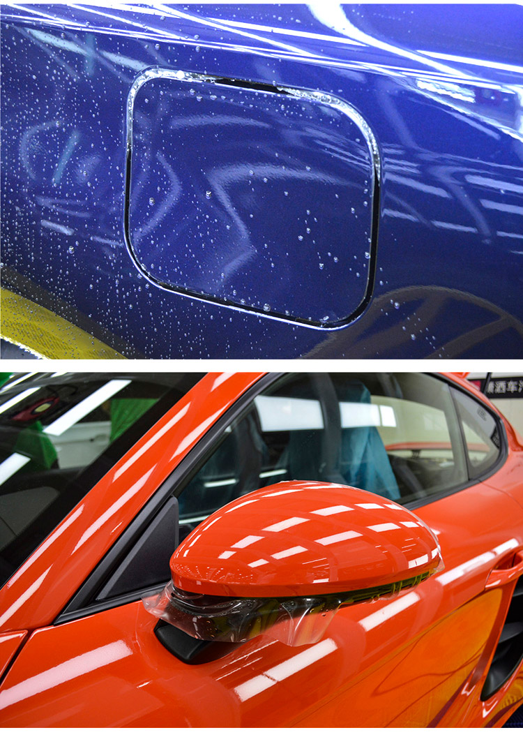 Best quality Clear nano ceramic TPU PPF car wrap vinyl paint protection film for car body