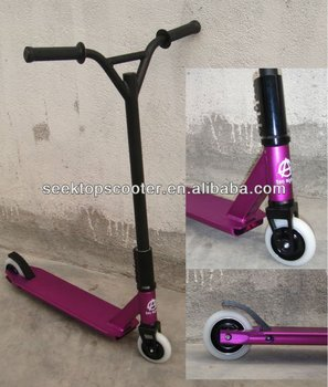 micro freestyle bmx stunt scooter with 4130 chromoly steel. Black Bedroom Furniture Sets. Home Design Ideas