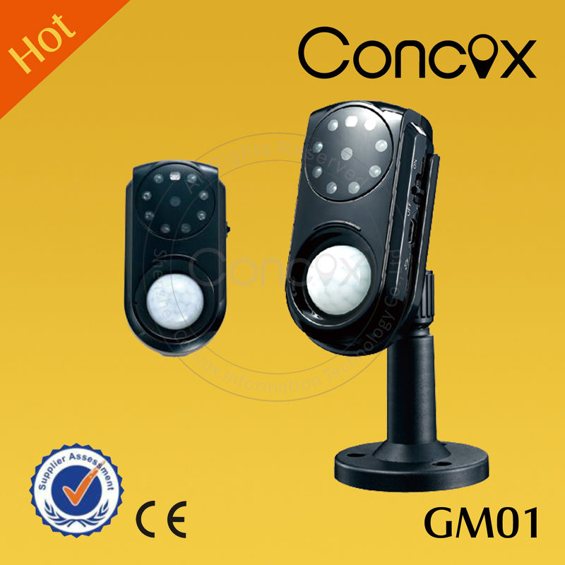 Concox camaras de seguridad with long standby time rechargable backup battery GM01 security camera system