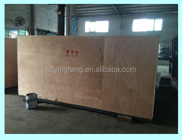 Beveling machine plywood case