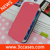 Popular style light leather case for Samsung S4 ,Standing case for Samsung Galaxy S4 i9500