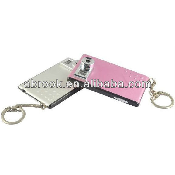 300K pixels credit card style super slim mini digital camera made in China