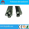 Aluminum core PE insulated abc cable overhead cable of china manufacture
