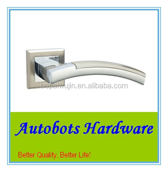 Wenzhou Autobots series zinc metal mortise door handle lock panel for timber door, home hardware