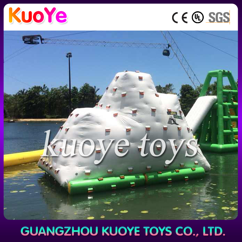 inflatable ice mountain water,floating inflatable toys giant,water park inflatable ice mountain