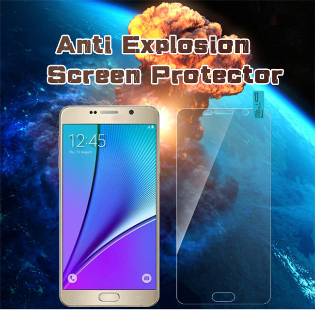 9H hardness 2.5D curved glass protector for Samsung Note5 screen protector