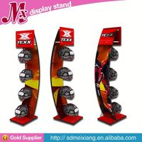 rotating Metal display racks, MX9492 sports display shelf