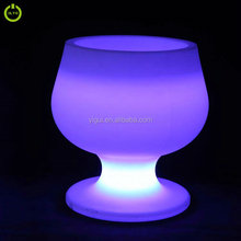 With soft light colorful used indoor stable quality remote control led ice bucket
