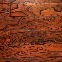 Professional Elm Embossed Engineered Solid Wood Flooring