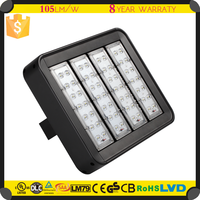 Motion Sensor LED Outdoor Recessed Lights 160W Parking Lights With 6 Beam Angles