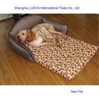 Custom made newly design soft detachable pet sofa accept custom order dog house picture