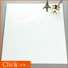 Super White Shiny Polished Porcelain Floor Tile 60x60