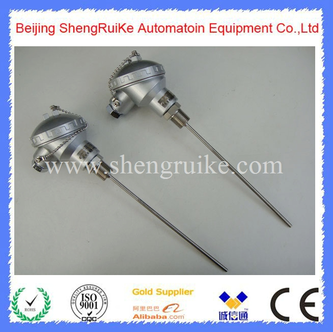1/2NPT Thread Pipe Pt100 Temperature Sensor