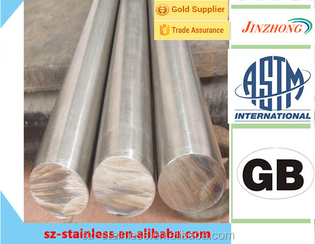 630 No Annealing High Quaility Tensile Rod China Fabrication Hot Rolled Stainless Steel Bright Round Bar