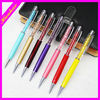 Color Stylus With Crystal promotional ballpoint pen ball crystal pen