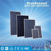 EverExceed 150W Polycrystalline Solar Panel module price with TUV/VDE/CE/IEC Certificates
