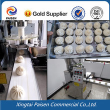 12 folding shape stainless steel automatic steamed bun filling machine/momo making machine