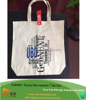 customized heavy duty printing canvas wholesale tote bags