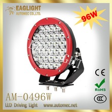 High Quality Wholesale IP 67 Round Spot High Power 9 inch 96w led driving light / led work light