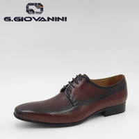 Top Sale Cool Leisure Serials Mens Nice Cheap Rubber outsole Leather dress shoes