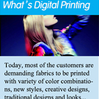 What's Digital Printing----silk modle