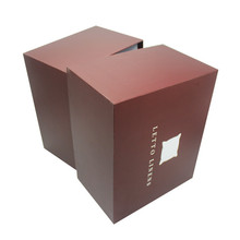 Decorative Pretty Pattern Matt Lamination Cardboard Paper Apparel Packaging Storage Box with Lid