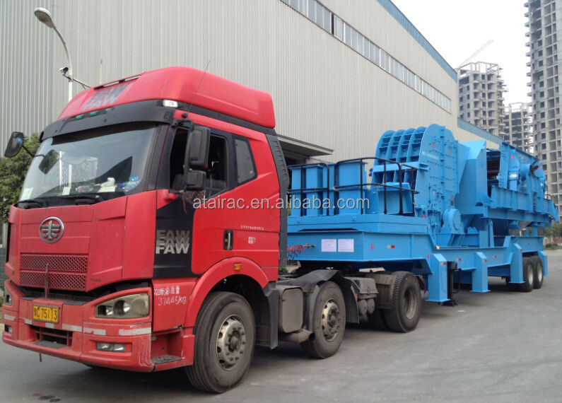 China high quality and low price Stone portable Crusher Plant/Mobile Crusher Plant/Movable crusher Plant