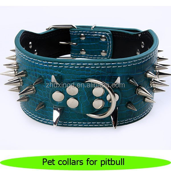 Good quality pet collars and leashes for pitbull, pet collar