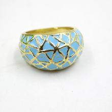 Turquoise Fashion Alloy Men's Ring Without Ruby