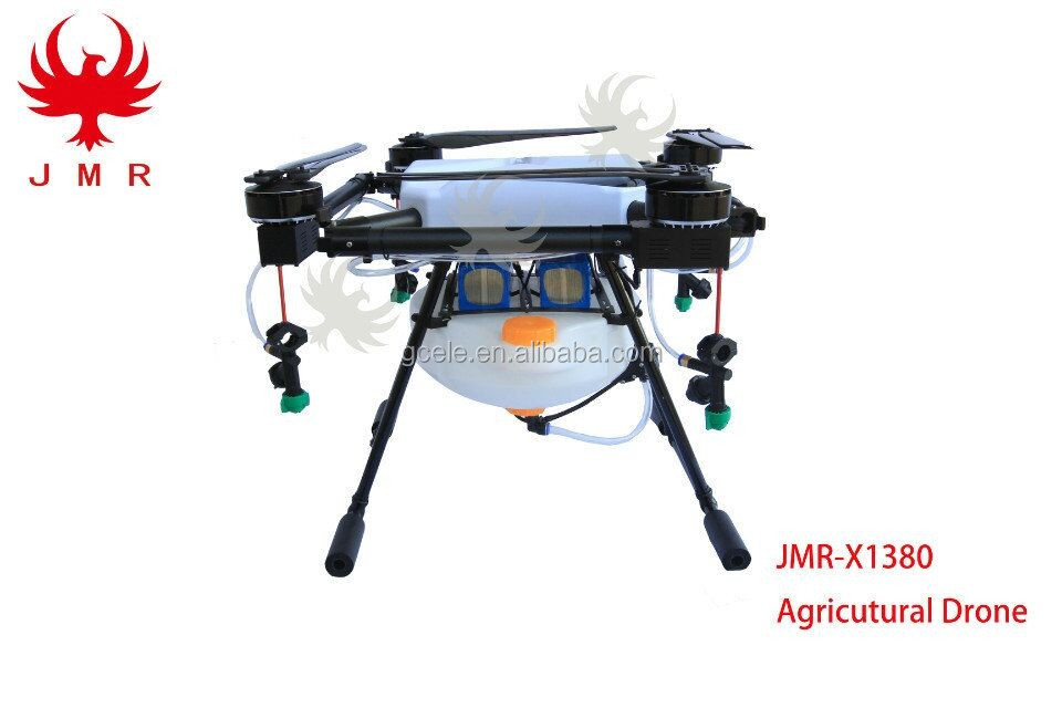 new spraying pesticides uav 10L 10KG capacity, long range 10kg light agriculture spraying drone with AB Point auto fly sprayer